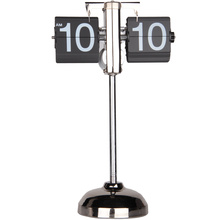 Variable height mini quartz table clock