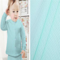 Skin-friendly Polyester Twill Bubble Jacquard Baby Fabric