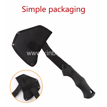 Plastic handle double bit multifunction camping axe