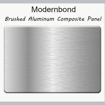 Brushed Color Aluminum Cladding Panels Finish