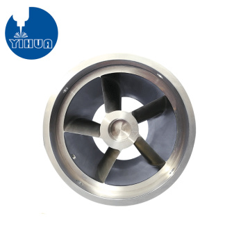 5 Axis Machined Aluminum Wheel Part