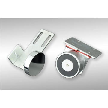 Electric automatic glass sliding door lock