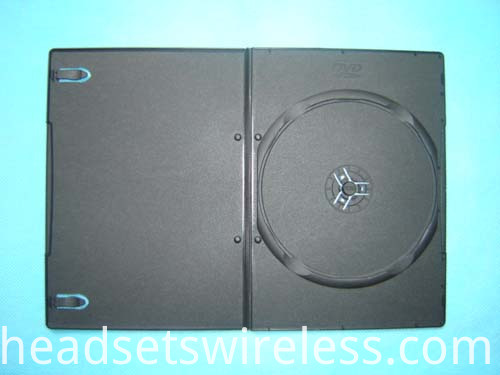 5mm long black dvd case