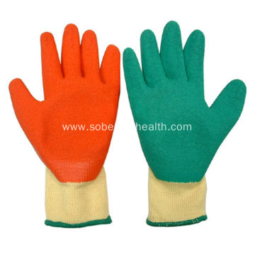Thickened labor protection workers' gloves