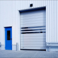 Stainless steel high speed industry door