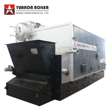 Rice Husk Fuel Fired 8 ton Steam Boiler