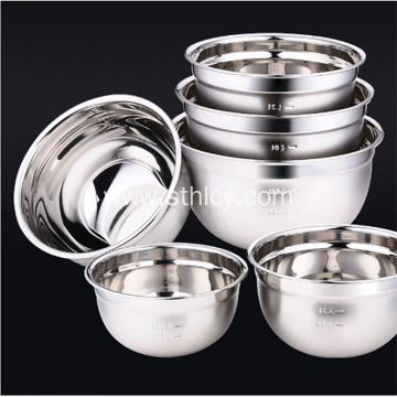 Stainless Steel Calibrated Soup Basin