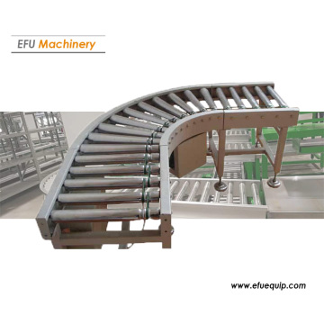 Industrial Curved Roller Conveyor