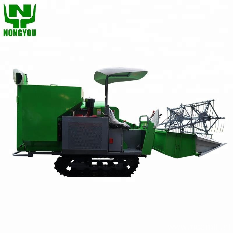 Easy operation mini combine harvester price