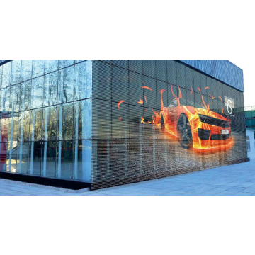 Creative new design glass led display