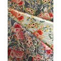 Lace Flower Rayon Challis 30S Air-jet Printing Fabric