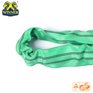 2 Ton High Quality Polyester Lifting Round Webbing Sling