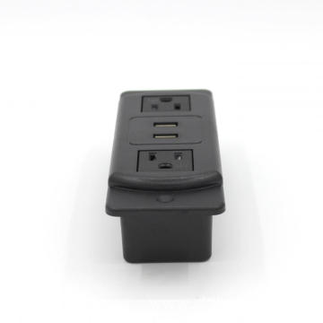 US Dual Power Outlets Strip With USB Port