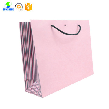 Carboard paper shopping bag