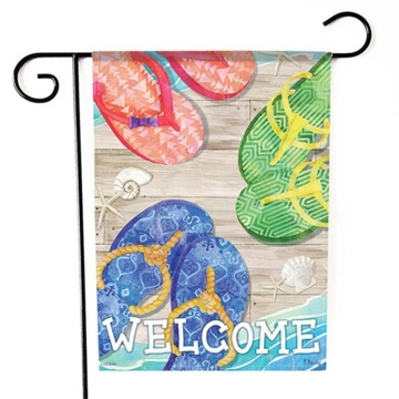 High quality outside Summer january garden flag
