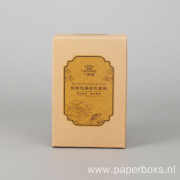 Luxury Cosmetic Card Coated Paper Box