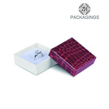Jewelry gift box for necklace leatherette ring box