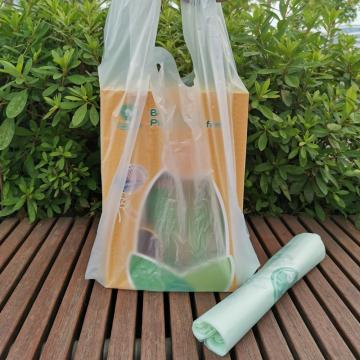 ASTM D6400 Verified Custom Printed Bioplastic Carrier Bags