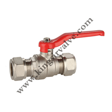 Nickel plated ball valve