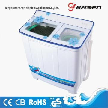 Blue Transparent Glass Cover 9.5KG Twin Tub Washing Machine