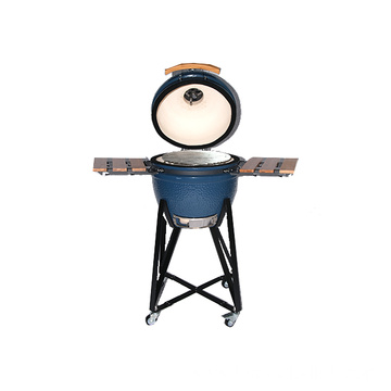 Egg Shaped BBQ Ceramic Charcoal Kamado Grill