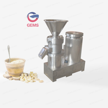 Cashew Nut Butter Processing Cashew Butter Grinding Machine