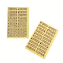 100Pcs Made With Love Heart Handmade Cake Packaging Sealing Label Kraft Sticker Baking DIY Gift Stickers