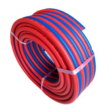 Durable flexible PVC twin welding hose