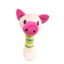 Top Paw Plush Pink Pig Dog Toy