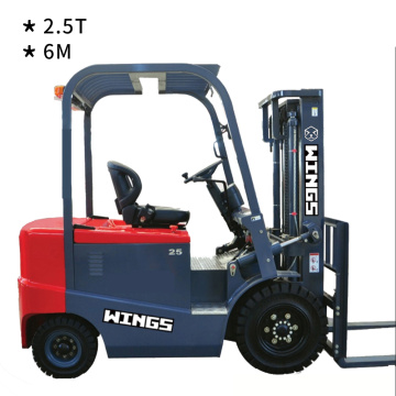 2.5T Electric Forklift 6m