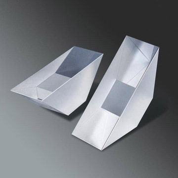90° CaF2/Fused Silica Glass Right Angle Triangle Prism