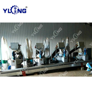 Alfalfa Grass Pellet Making Machine