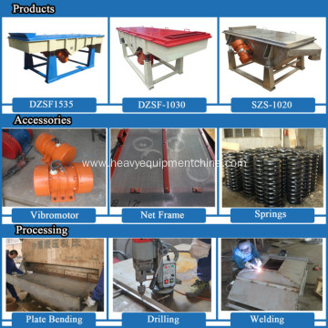 Types of Vibrating Screen Linear Shaking Screen Equipment