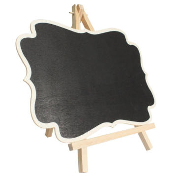 Kitchen Office  Wooden Mini Blackboard Memo Sign Message Chalk Board
