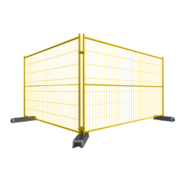 Canada temporary fence portable construction security fence