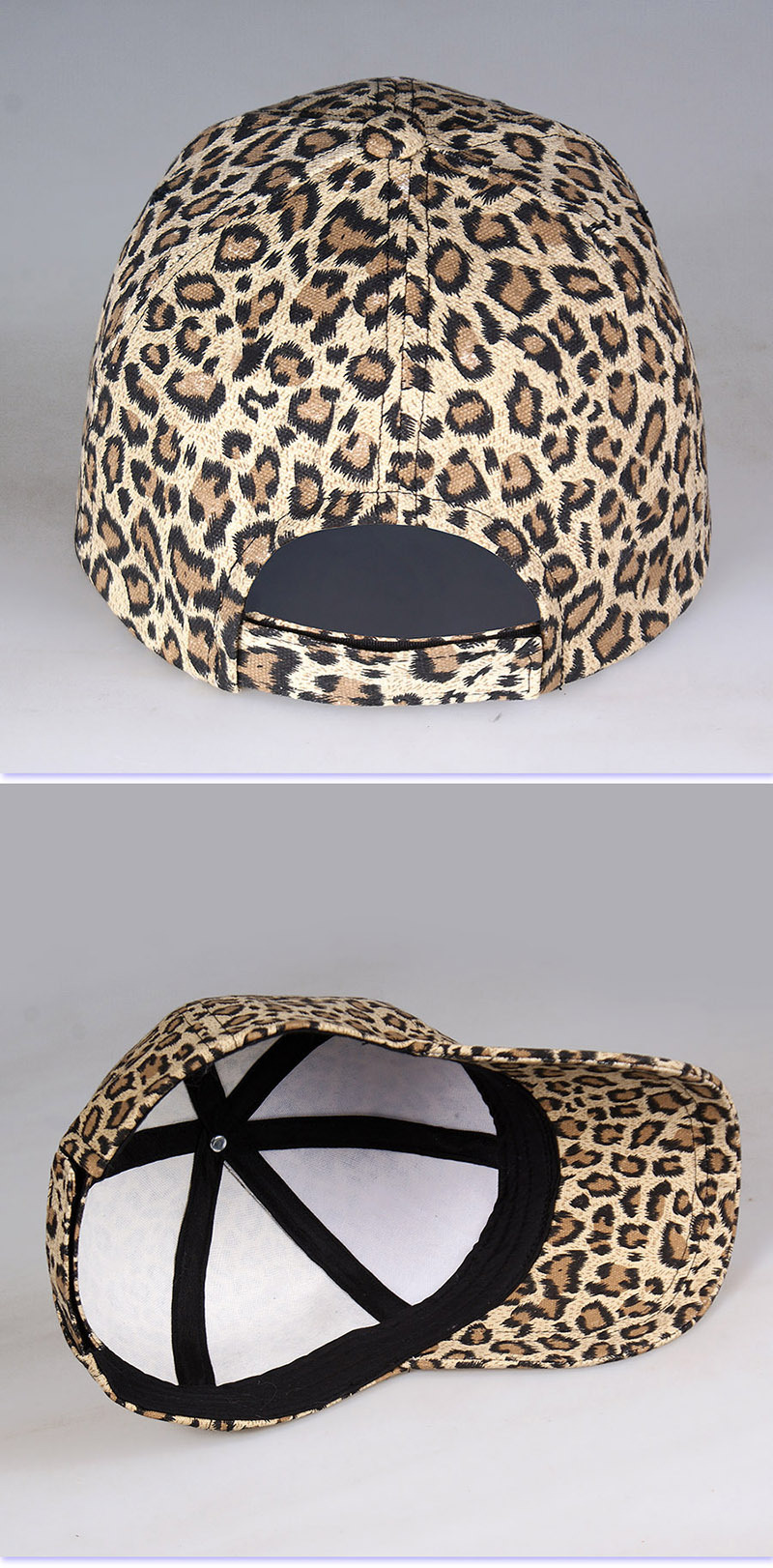 Leopard cap baseball cap man and woman (6)