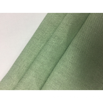 Linen Cotton Twill Solid Fabric