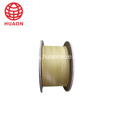 glass fiber enameled aluminum square flat wire