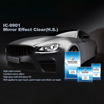 High Gloss Mirror Effect Clearcoat Car Refinish