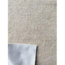 Cotton Poly Brushed Bonded Fleece