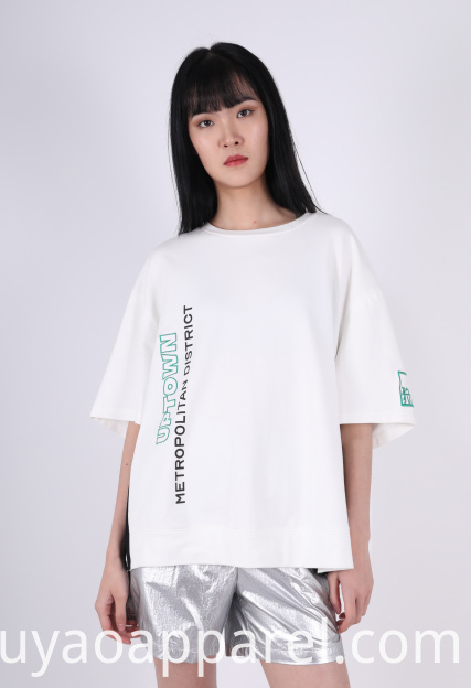 LADIES LEISURE COMBINED T-SHIRT