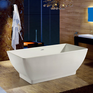 Square Acrylic Portable Freestanding Bathtub Acrylic Tub