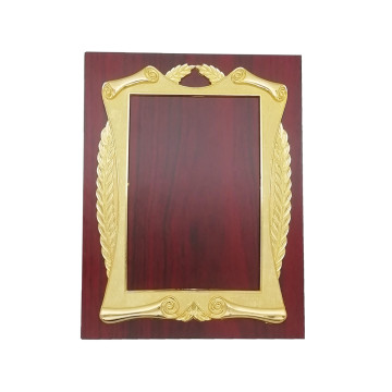 Cheap price wooden trophy with fram