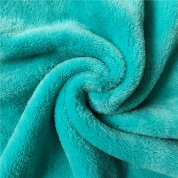 Dyed Two Side Flannel Fleece Fabric