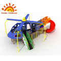 Plane Outdoor Playground Equipment For Children