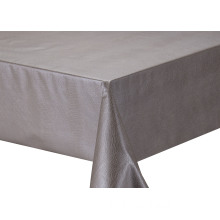 Solid Embossed Fabric Tablecloth Disposable