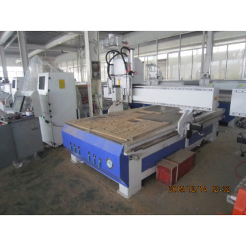 Auto multi head woodworking atc cnc router 1325