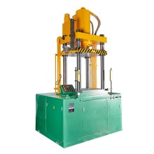 Four columns desktop hydraulic press