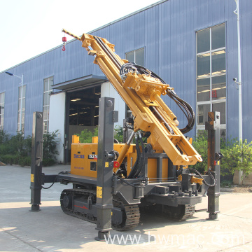 300M Full Hydraluci Pneumatic Water Well Drilling Rig