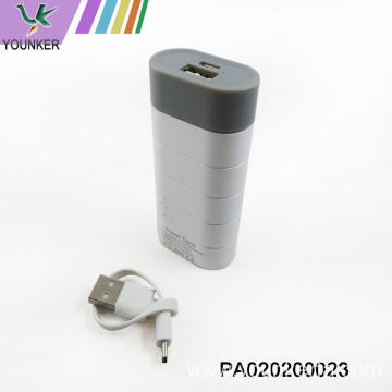 Fashion portable mini 2400mah power bank